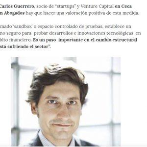 """Luz verde a un """"Sandbox"""" para impulsar la transformación digital en el sector financiero"""