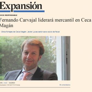 Fernando Carvajal liderará mercantil en Ceca Magán