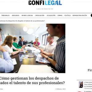 ¿Cómo gestionan los despachos de abogados el talento de sus profesionales?
