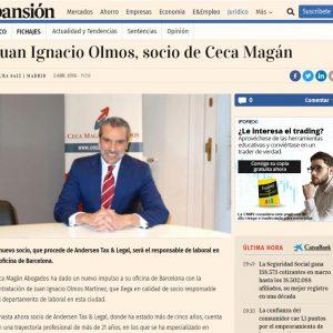 Juan-Ignacio Olmos, nuevo Socio de Ceca Magán