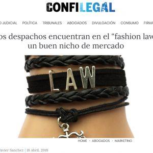 """Los despachos encuentran en el """"fashion law"""" un buen nicho de mercado"""