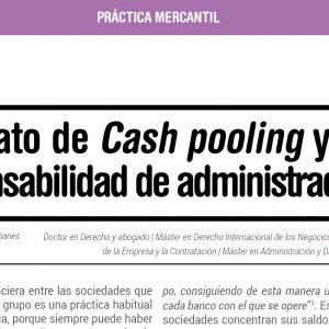 Contrato de Cash pooling y responsabilidad de administradores