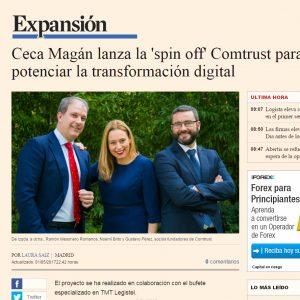 Ceca lanza la 'spin off' Comtrust