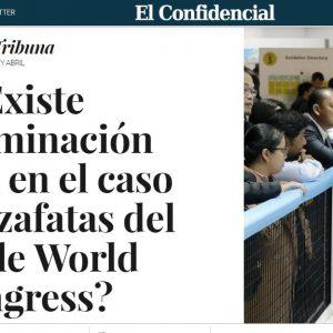 ¿Existe discriminación salarial en el caso de las azafatas del Mobile World Congress?