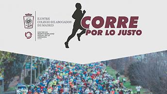 Ceca Magán patrocinador de la carrera CORRE POR LO JUSTO organizada por el ICAM