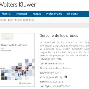 """Enrique Ceca participa en el libro """"Derecho de los drones"""""""