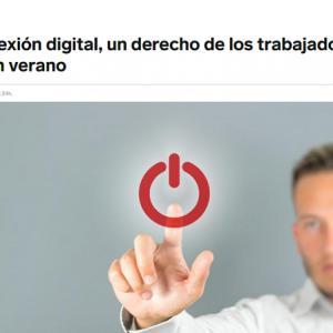 La desconexión digital, un derecho de los trabajadores también en verano
