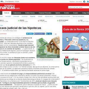 El caos judicial de las hipotecas