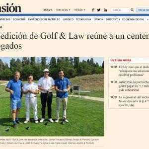 Ceca Magán participa en torneo benéfico Golf & Law