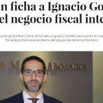 Ignacio Gordillo, nuevo socio de tributario de Ceca Magán en Madrid