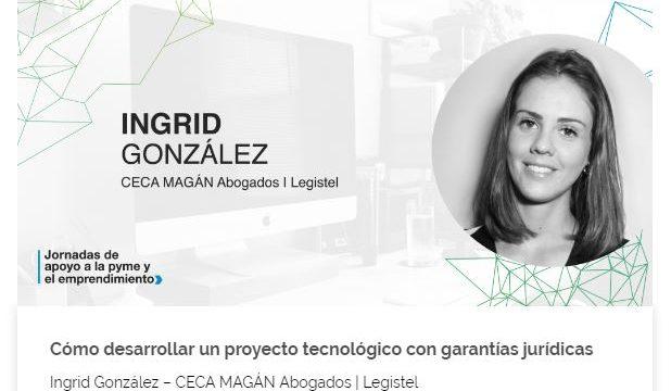 Ingrid González: ponente en las jornadas de apoyo a la pyme y el emprendimiento en Canarias