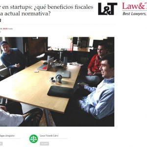 Invertir en startups: ¿qué beneficios fiscales ofrece la actual normativa?