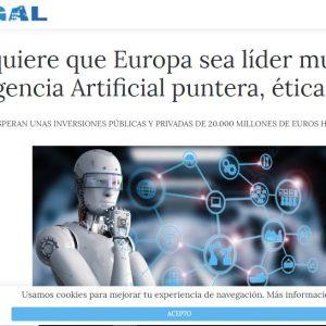 Noemí Brito opina sobre la Inteligencia Artificial en Confilegal