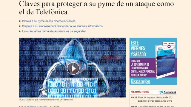 Claves para proteger tu pyme de un ataque cibernético