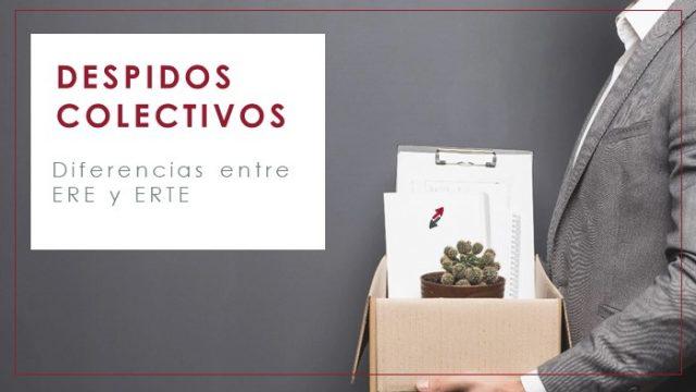 Despidos colectivos: diferencias entre ERE y ERTE