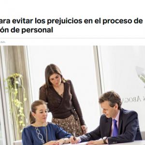Cómo evitar prejuicios en el proceso de contratación de personal