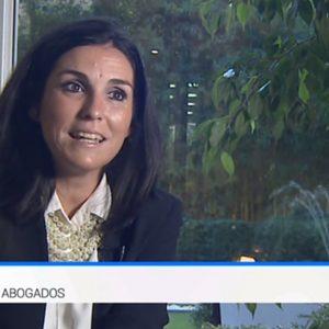 Puy Abril, en el telediario TVE