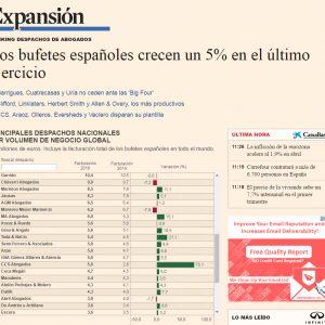 Ceca, entre los 40 mejores despachos españoles