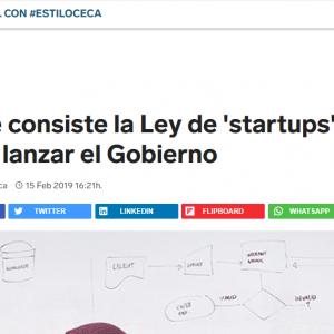 """En qué consiste la Ley de """"startups"""" que quiere lanzar el Gobierno"""