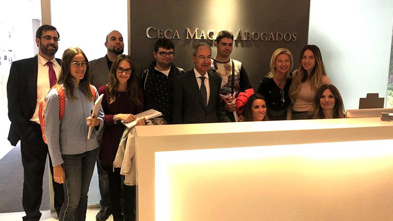Alumnos de la Fundación Carmen Pardo-Valcarce visitan Ceca Magán